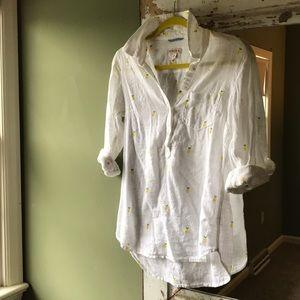 Light Linen Lemon Shirt